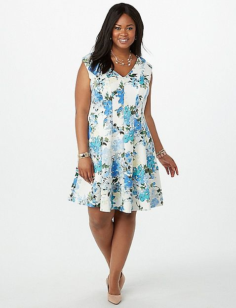 This Dress Is Perfect For Spring And Cute As Can Be Plus Size