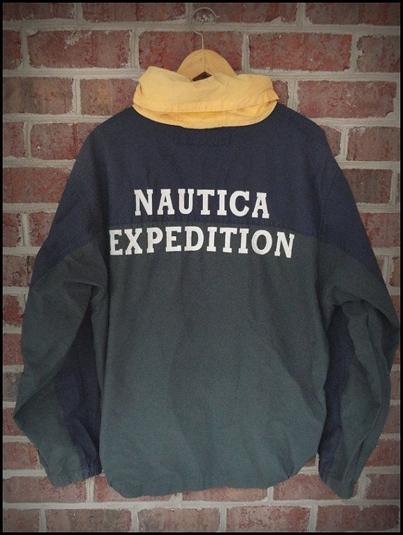 e5ae033f6386c Vintage 90's RARE Nautica Expedition Sailing Jacket by CharchaicVintage,  $35.00