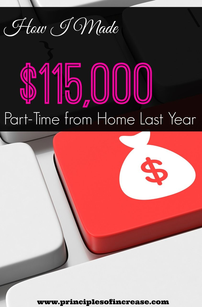 How i made 115 000 part time from home last year dishes - How to earn more money in design home ...