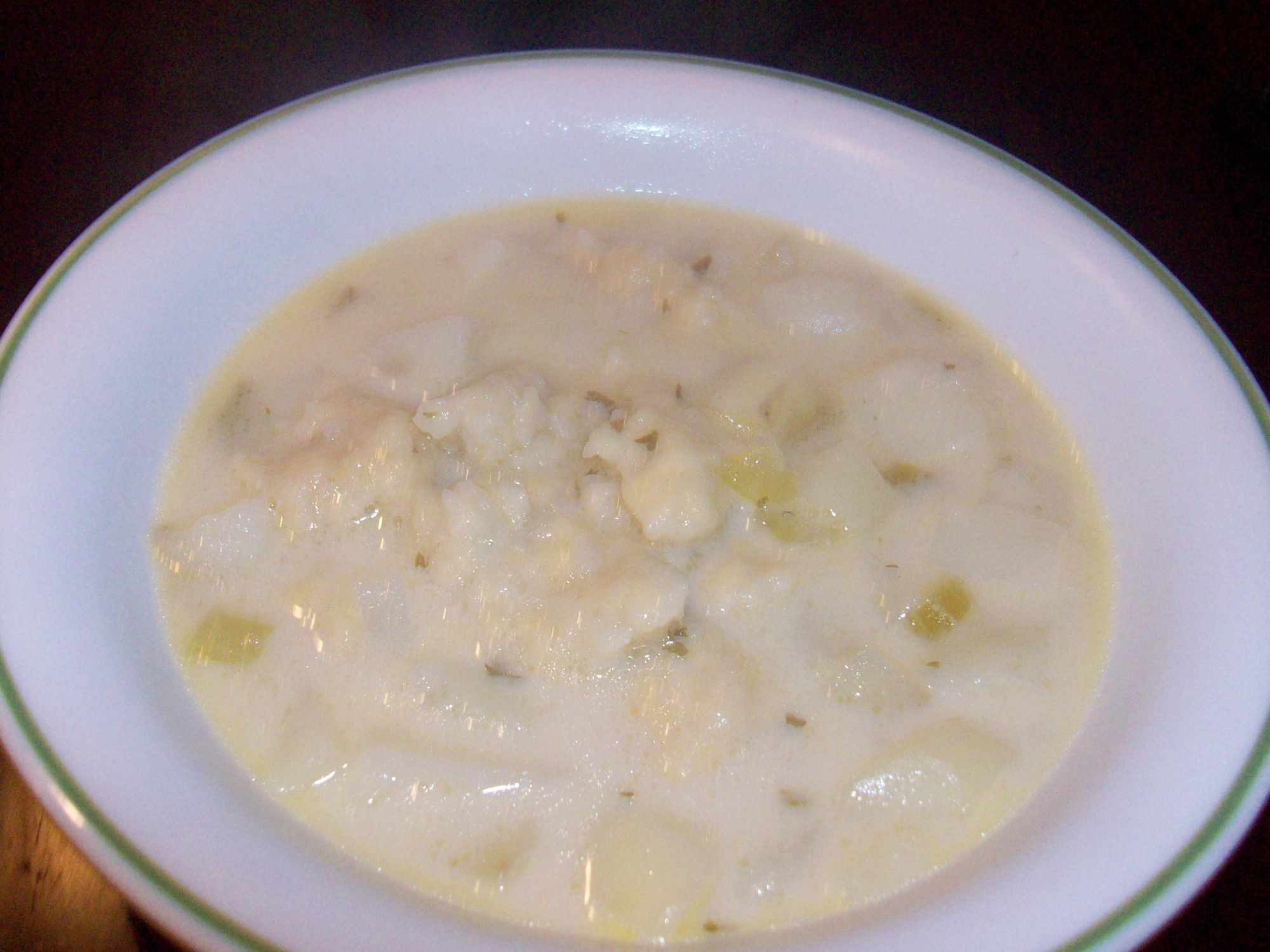 Potato Rivel Soup