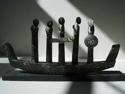 John Maltby 'Family and Boat'