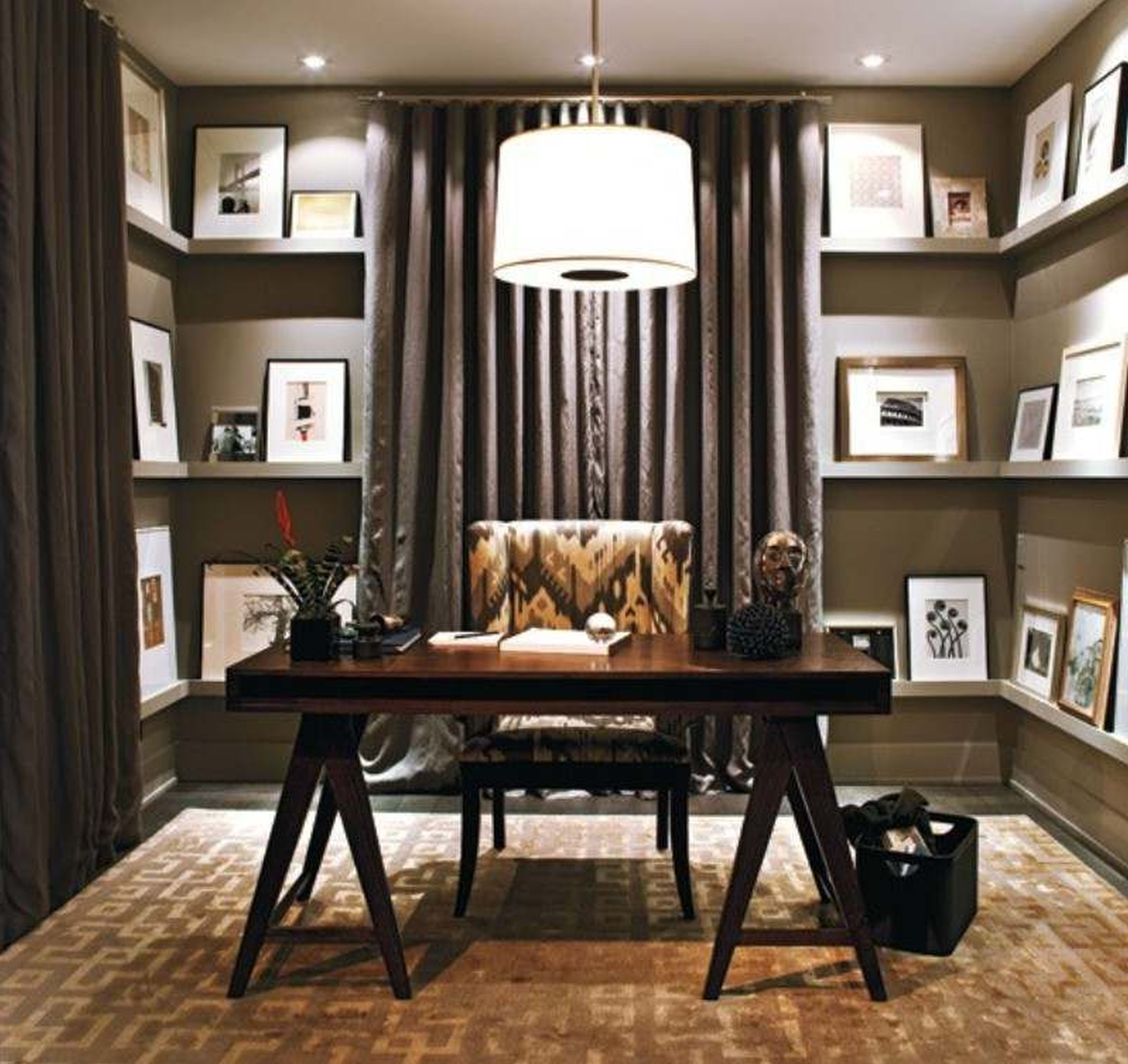 Home Office Decorating Ideas for Comfortable Workplace | Luxury ...