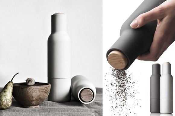 The Norm Bottle Grinder / Menu {the prettiest pepper grinder ever.} #kitchen