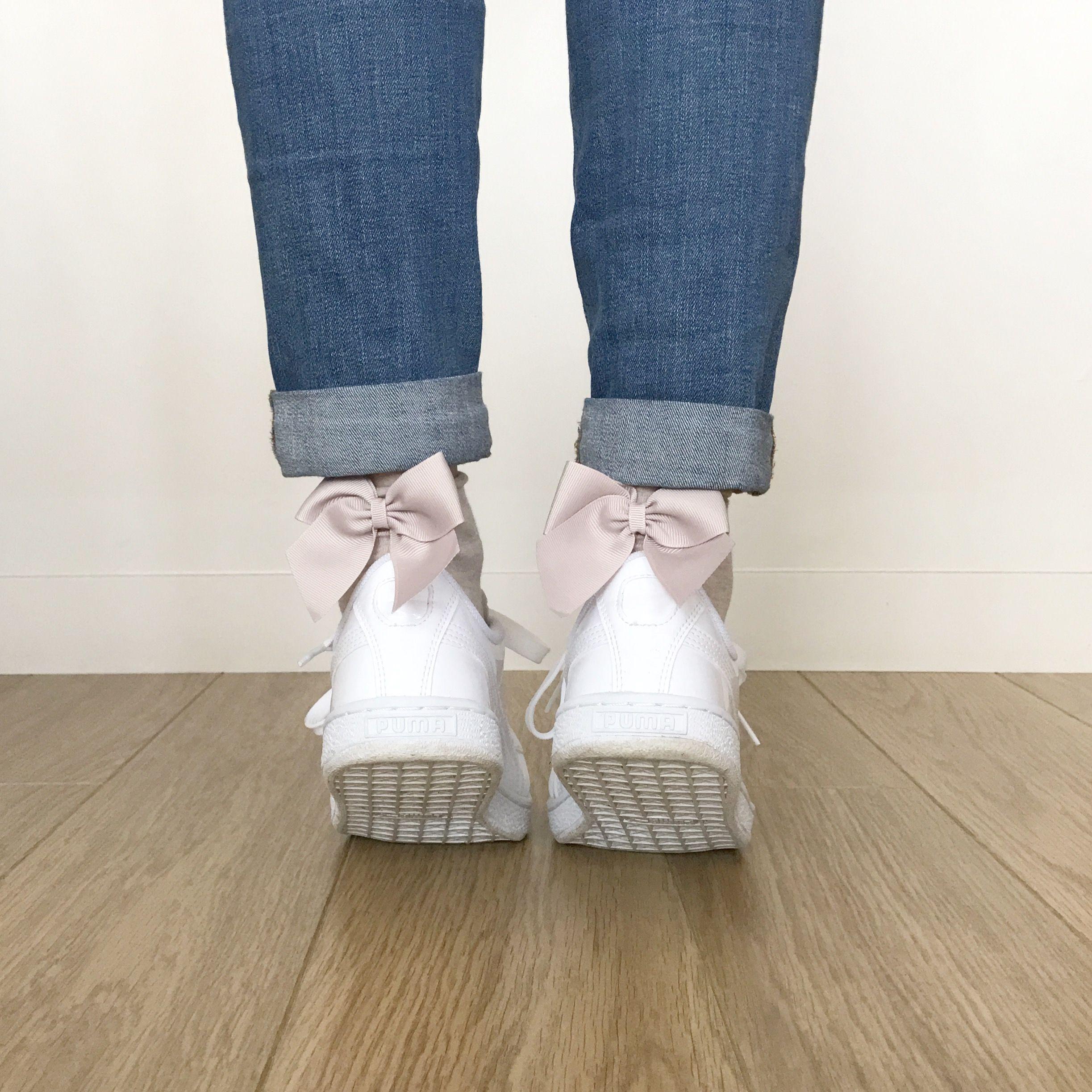 puma et chaussettes noeuds calzedonia baskets tendances pinterest pumas. Black Bedroom Furniture Sets. Home Design Ideas