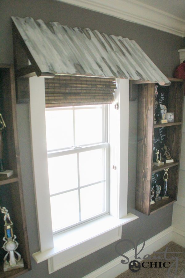Diy Corrugated Metal Awning Patios Window And Metal Awning