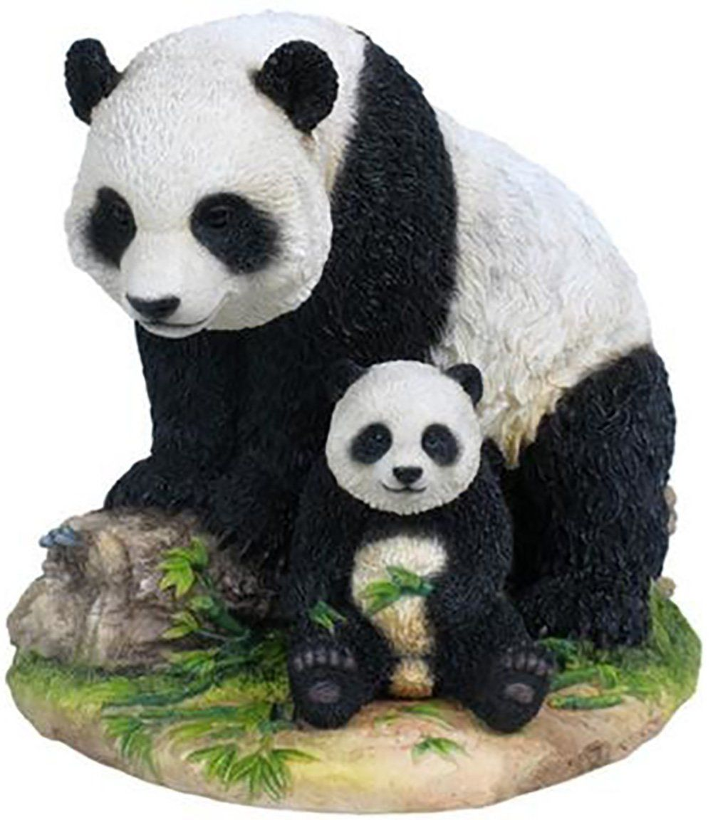 "Amazon.com: Custom & Unique {6.5"" x 8"" Inch} 1 Single, Home & Garden ""Standing"" Figurine Decoration Made of Resin w/ Cute Kid's Exotic Wild Life Realistic Chinese Panda Bear & Cub Style {Assorted Color}: Home & Kitchen"