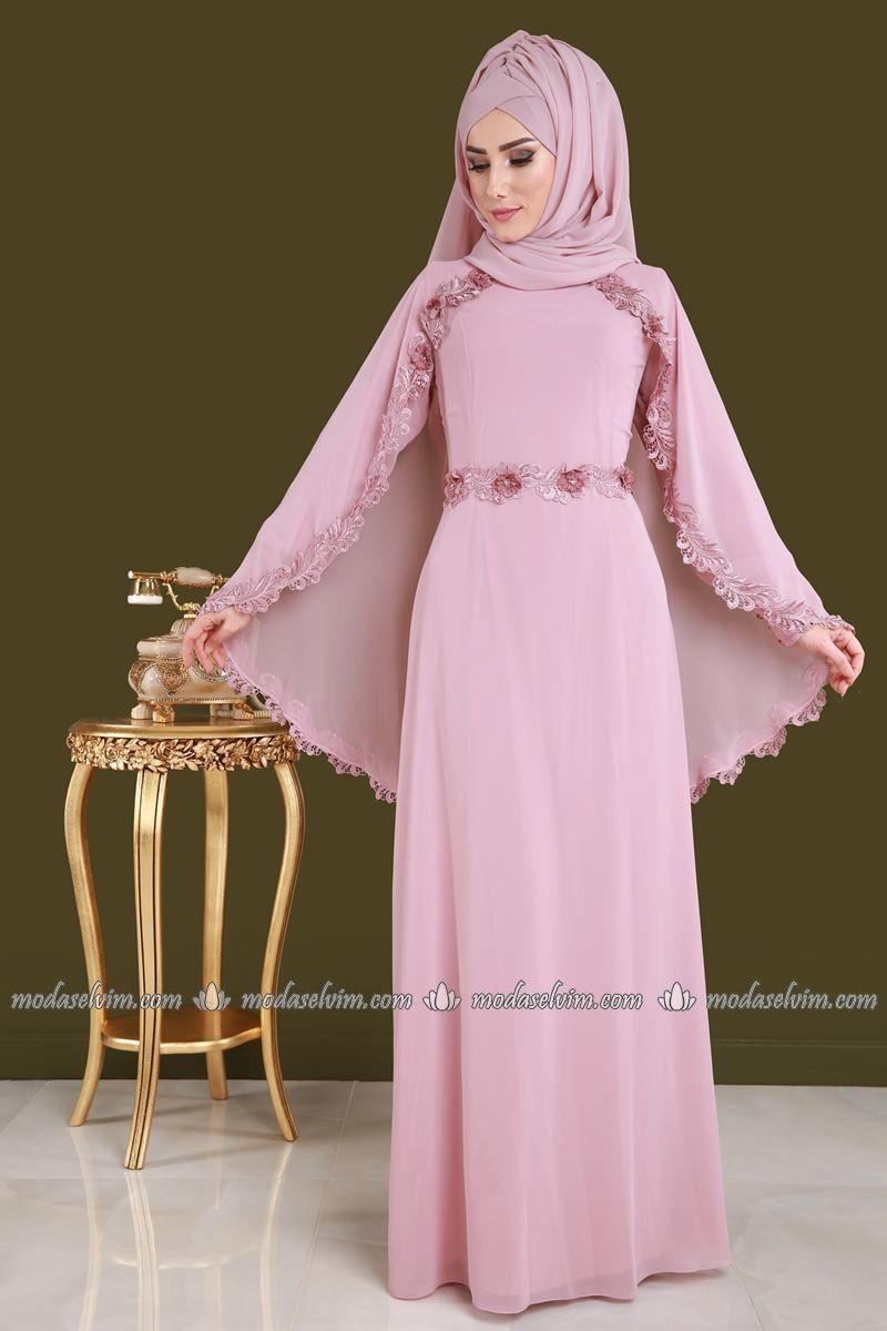 Modaselvim Gupurlu Tesettur Abiye Modelleri The Dress Moda Stilleri Elbiseler
