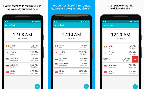 World Clock Pro Timezones and City Infos v1 4 0 Pro Paid Apk