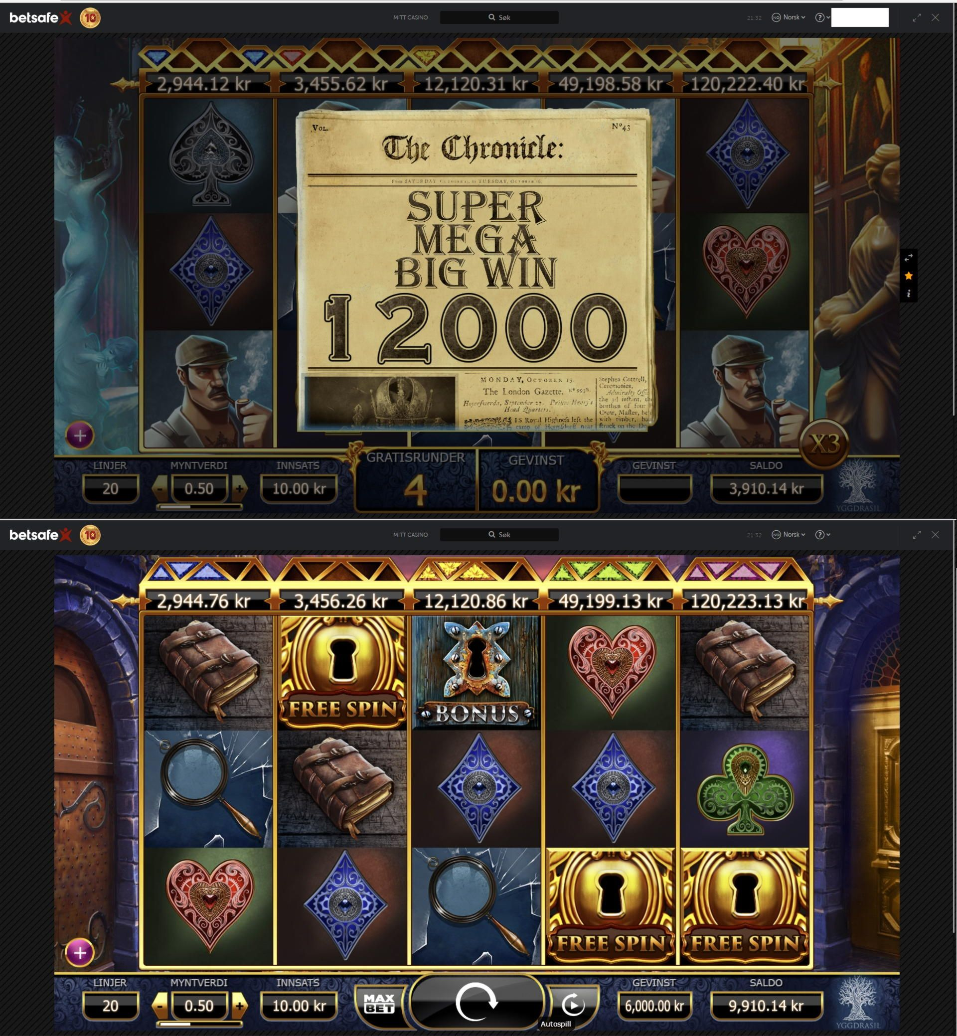 casino slots gladiator big win