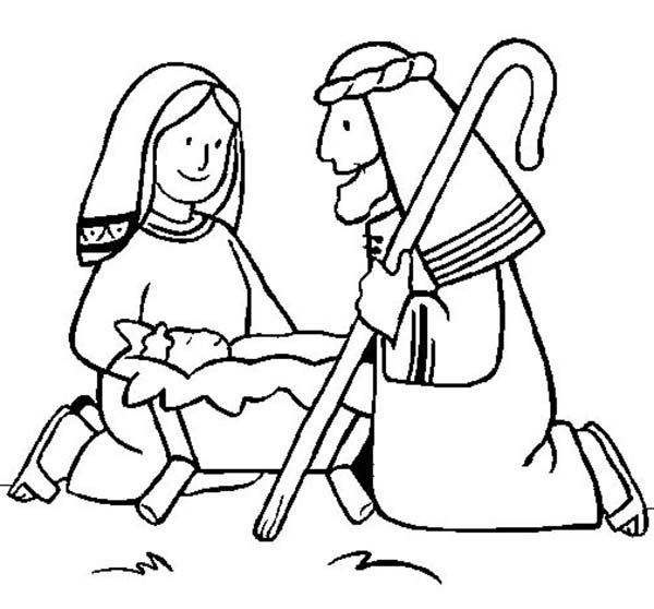 Baby Jesus Baby Jesus King Of Nazareth Coloring Page
