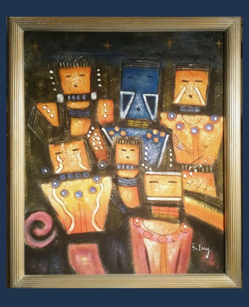 2 Gemälde Eines Mexikanischen Akadem Malers Pseudonym B Long Home Decor Decor Frame