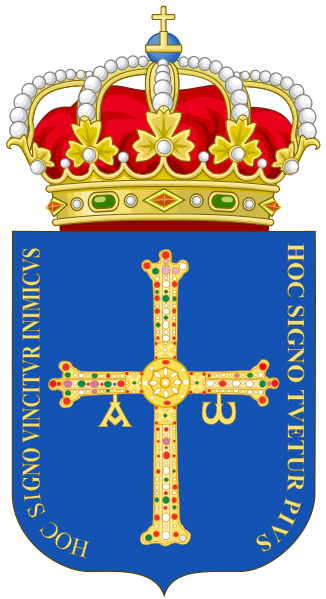 Coat Of Arms Of Asturias Representing The Principality Of Asturias Spain This Is The Official Heraldic Emblem Coat Of Arms Asturias Celtic Nations