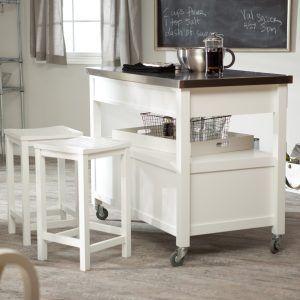 Fine Living Kitchen Island With Folding Leaf Diy And Crafts Short Links Chair Design For Home Short Linksinfo