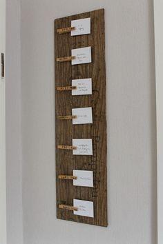 Fur Kuche Kuchenplaner Essensplan Wood To Make Pinterest