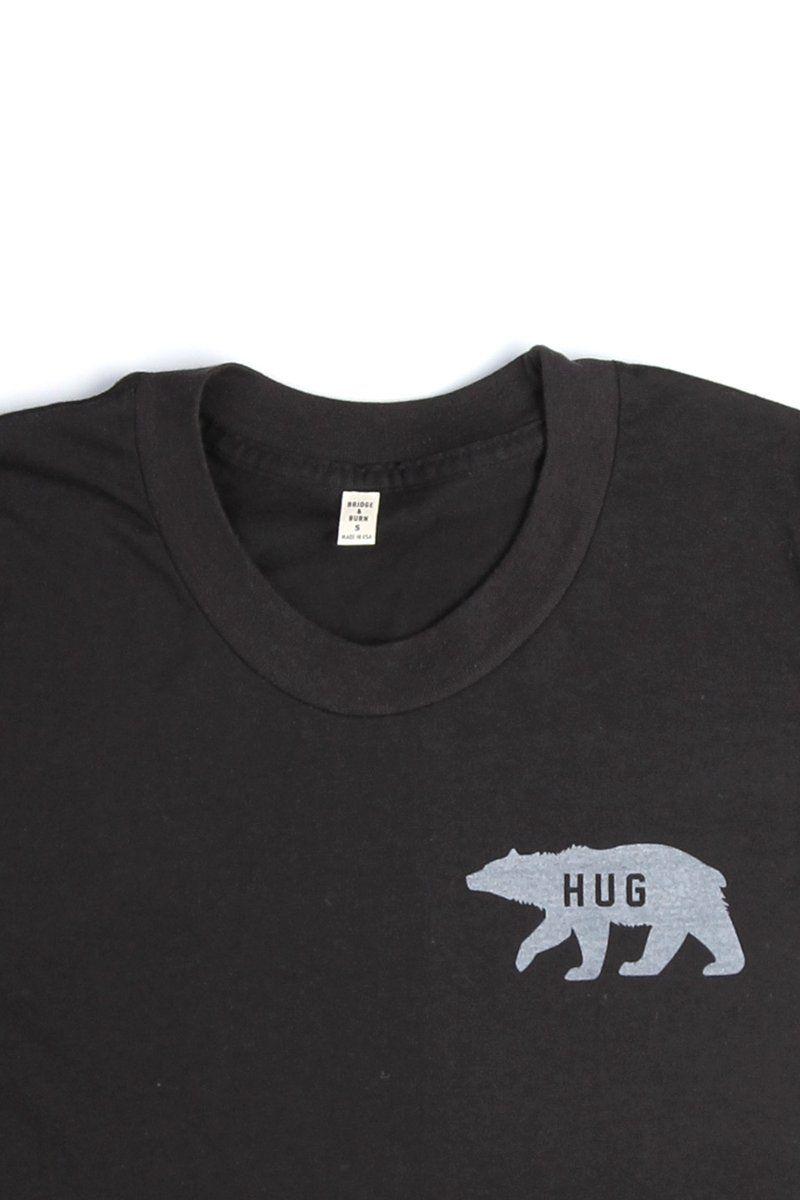 db48ff13af Women's Bear Hug Black T-Shirt | I like your style | Shirts, Women, Hug