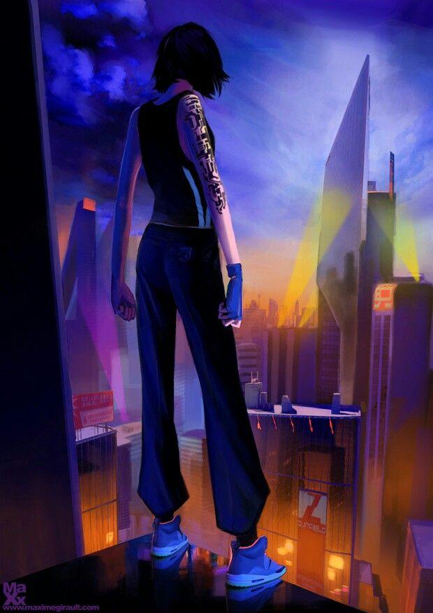 Robert Sammelin - Mirrors Edge Catalyst - Prequel minicomic | Mirrors edge, Mirrors edge