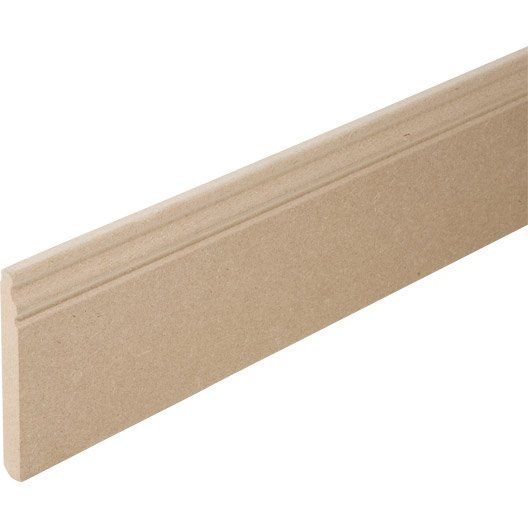 Plinthe_medium__mdf__mouluree__16_x_150_mm__l_2_24_m · Leroy MerlinPvc BaseboardsCarpentry