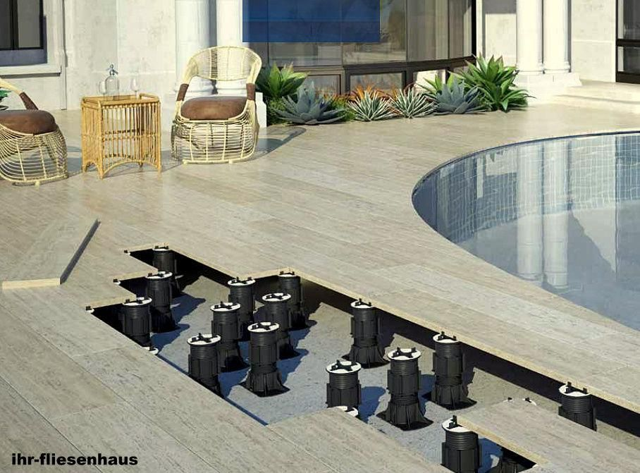 Bildergebnis Für Terrassenplatten Auf Stelzlager Verlegen Jacuzzi - Terrassenplatten trocken verlegen