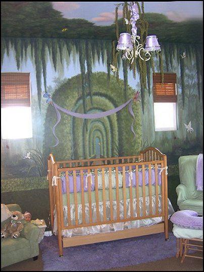 Fairy Garden Nursery Decorating