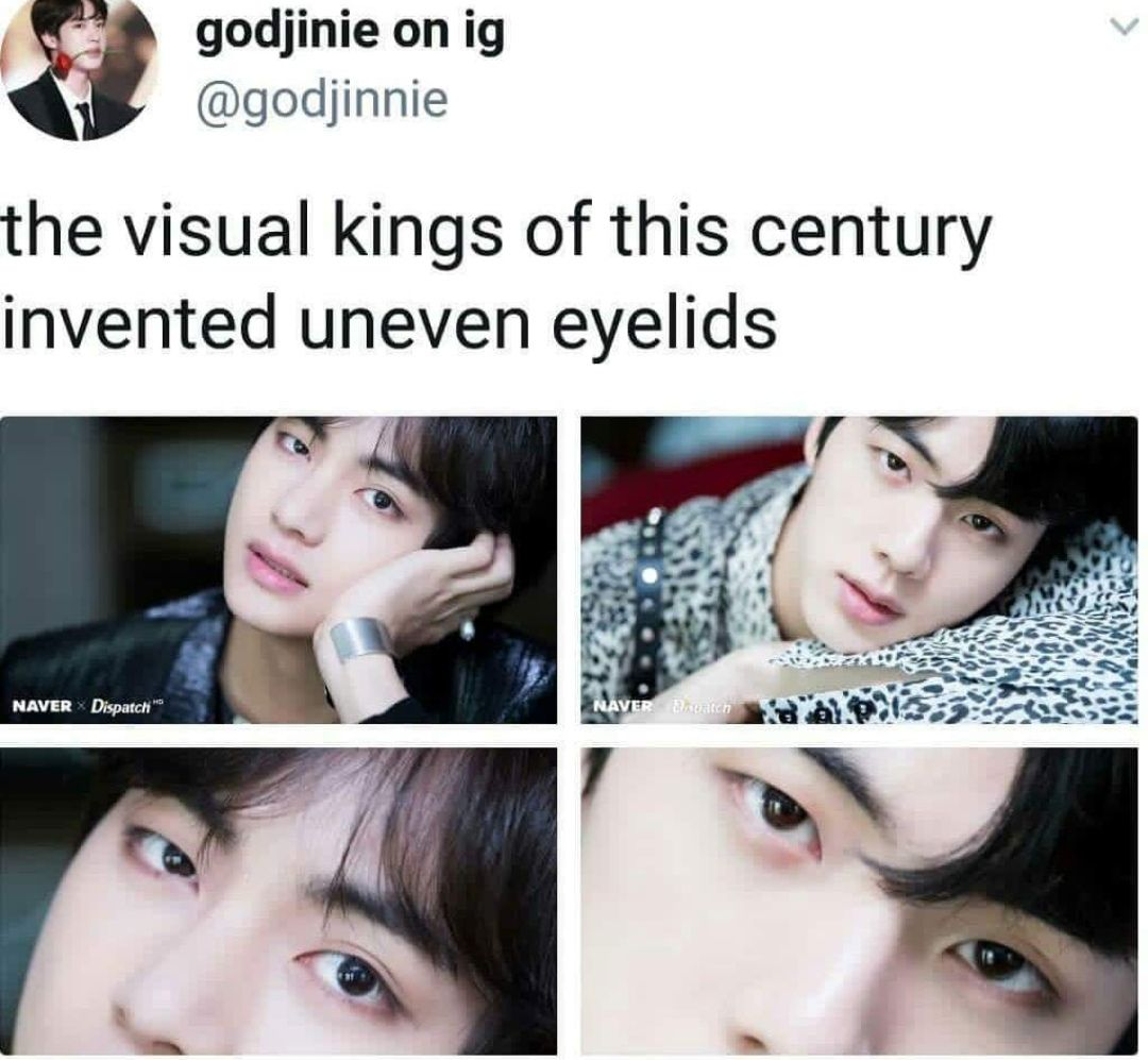 I Agree With The Opening Statement So Much I Guess Being A Visual Runs In The Kim Family Bts Boys Bts Memes Bts Bangtan Boy