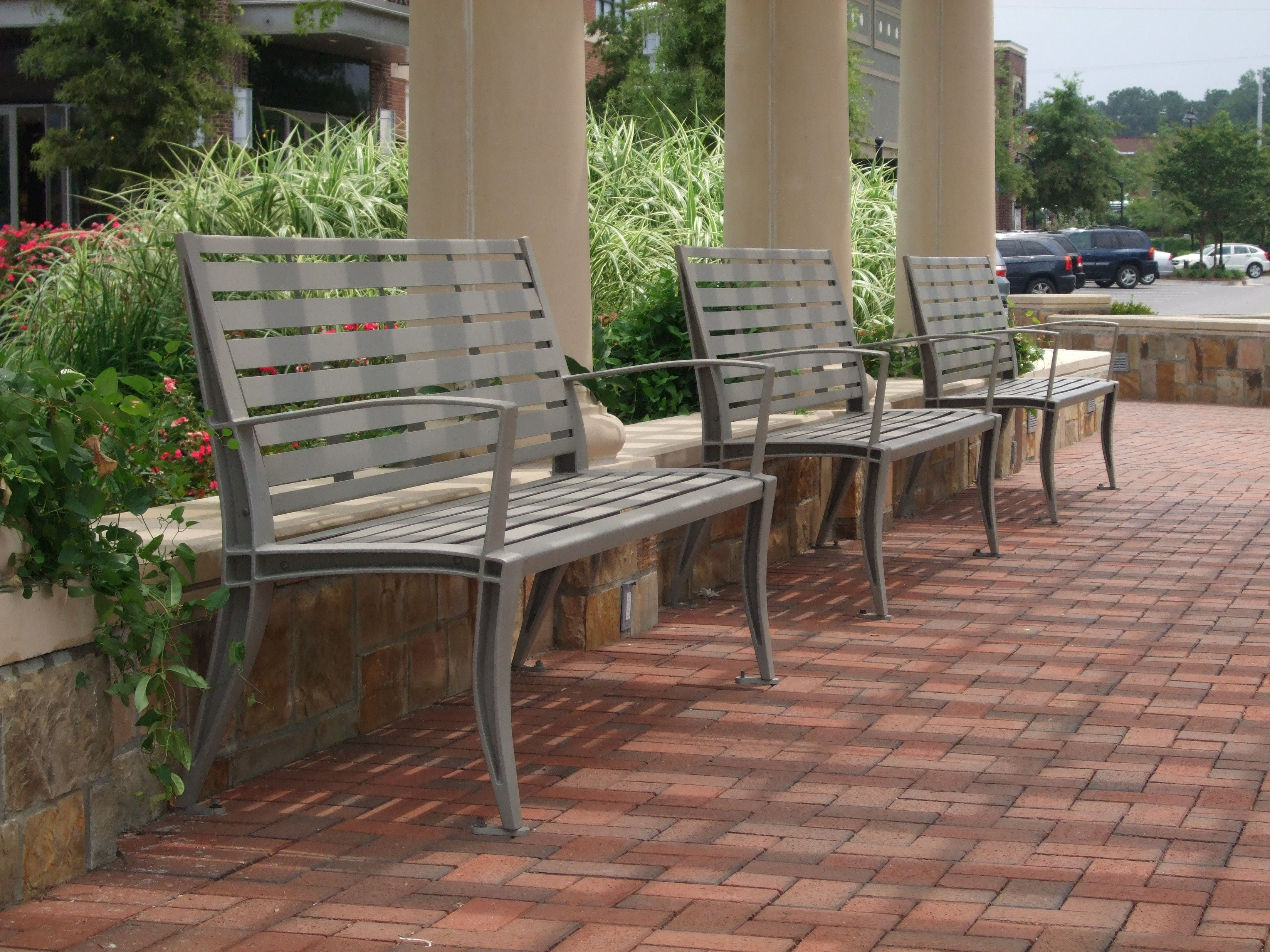 The Dewart Bench Avenues At Forsyth Georgia Durable Outdoor Furniture Outdoor Bench Outdoor Chairs
