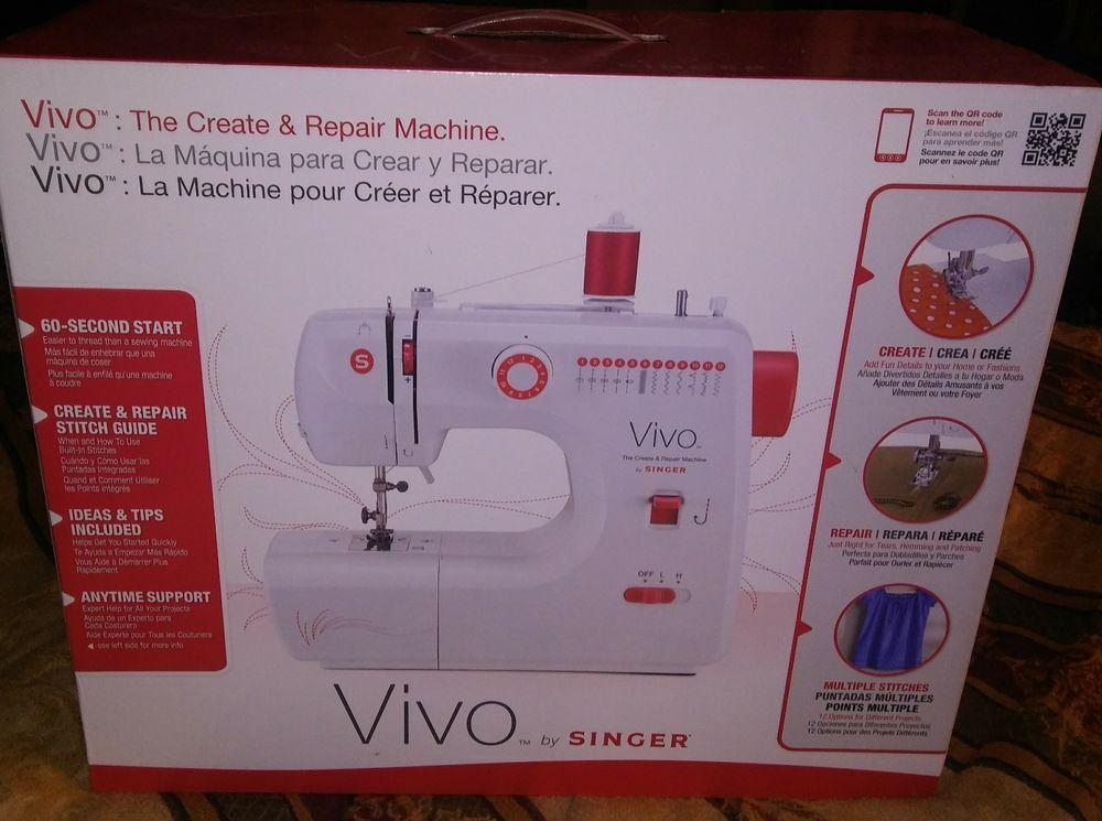 Singer Vivo Sewing Machine My Ebay Items For Sale Pinterest Classy Vivo Singer Sewing Machine