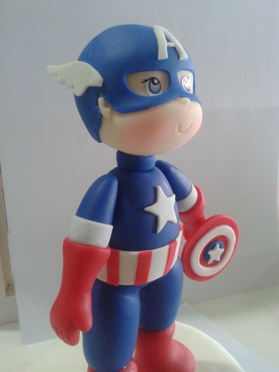 Resultado de imagen para capitan america en porcelana fria ...