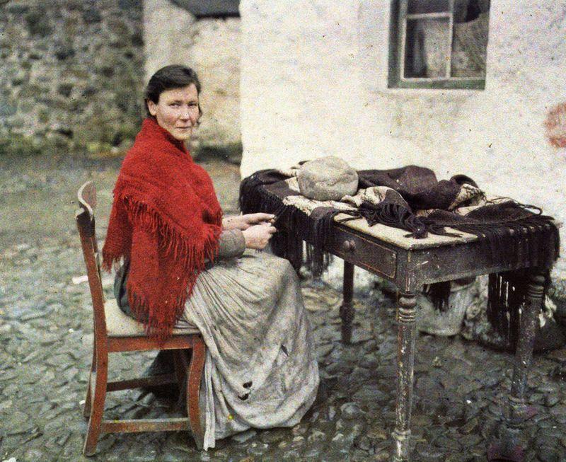 Ирландия 1913 г. в цвете. Непокорённые | Старые фотографии ...