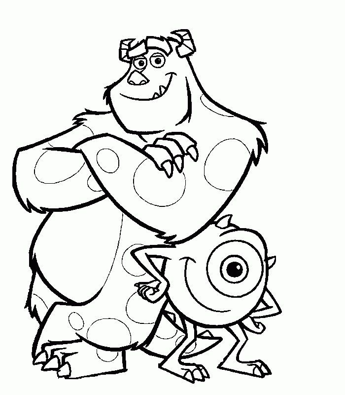 disney pixar monsters inc coloring pages 1000 images about monsters