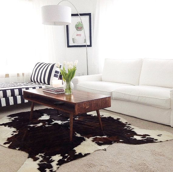 Solid Wood Mid Century Coffee Table: IN STOCK Mid Century Coffee Table Solid Wood
