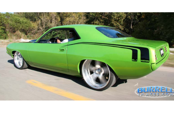 Pro Touring Cuda For Sale >> Pro Touring Cuda Rides Magazine Muscle Cars Hot Rods