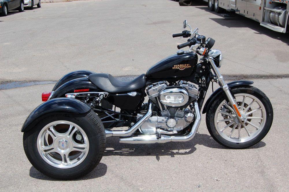 2008 Harley-Davidson XL883L with a Champion Trike Kit, 3716