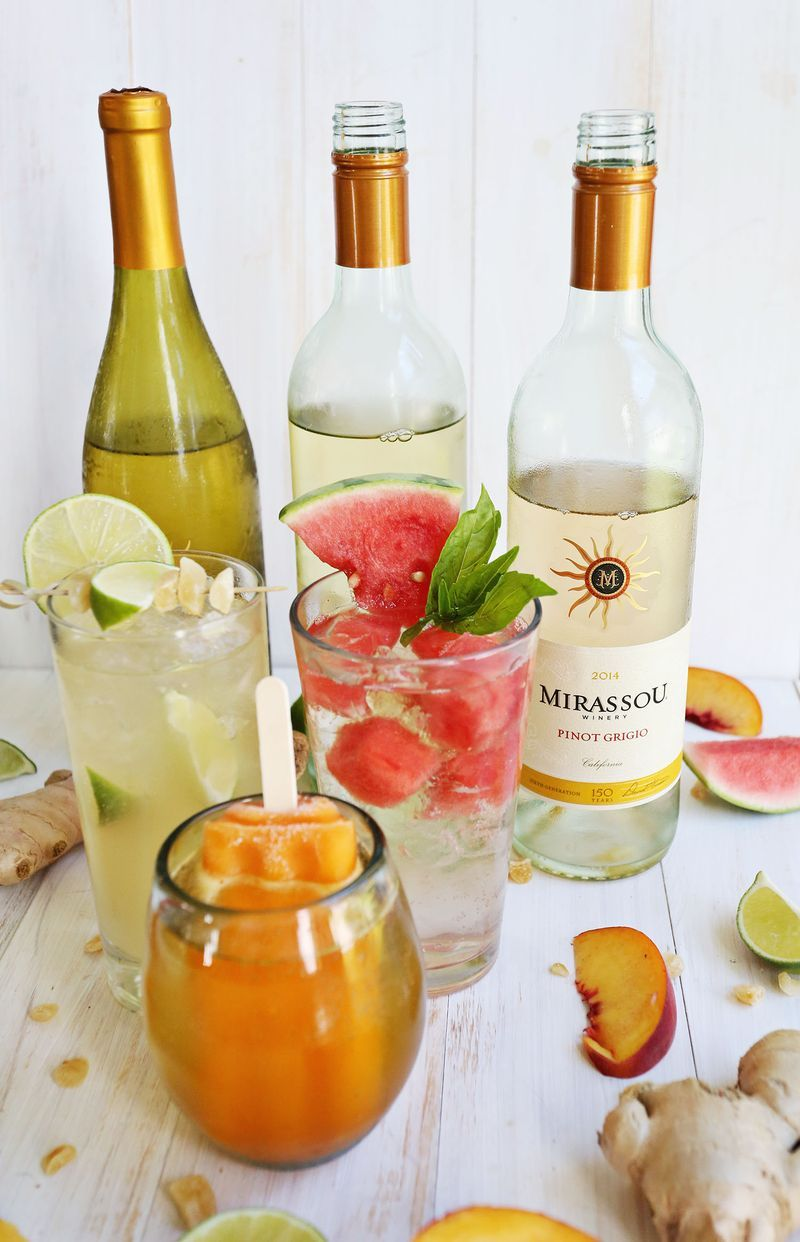 3 Easy White Wine Spritzers