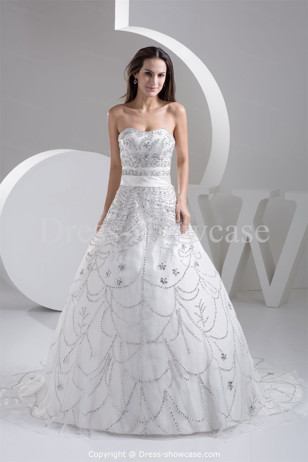Collection White Bridal Dresses Pictures - Weddings Pro