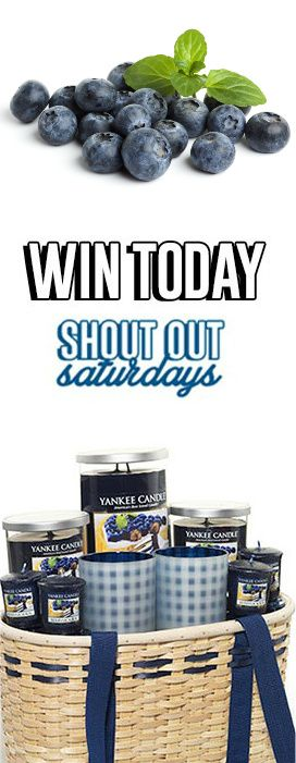 Enter to WIN a Berrylicious Yankee Candle Gift Set! #WomanFreebies #ShoutouSaturday #sweeps