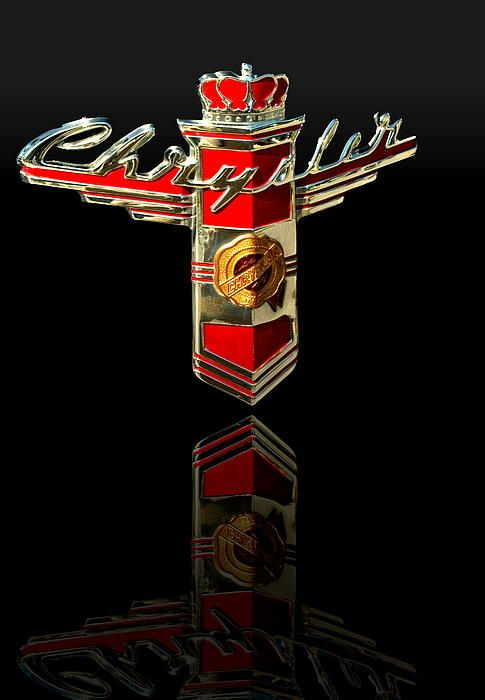 1946 Chrysler Town And Country Classic Hood Emblem This Image Has