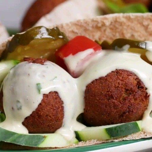 Falafel - eredeti arab recept   Food, Falafel, Workout food
