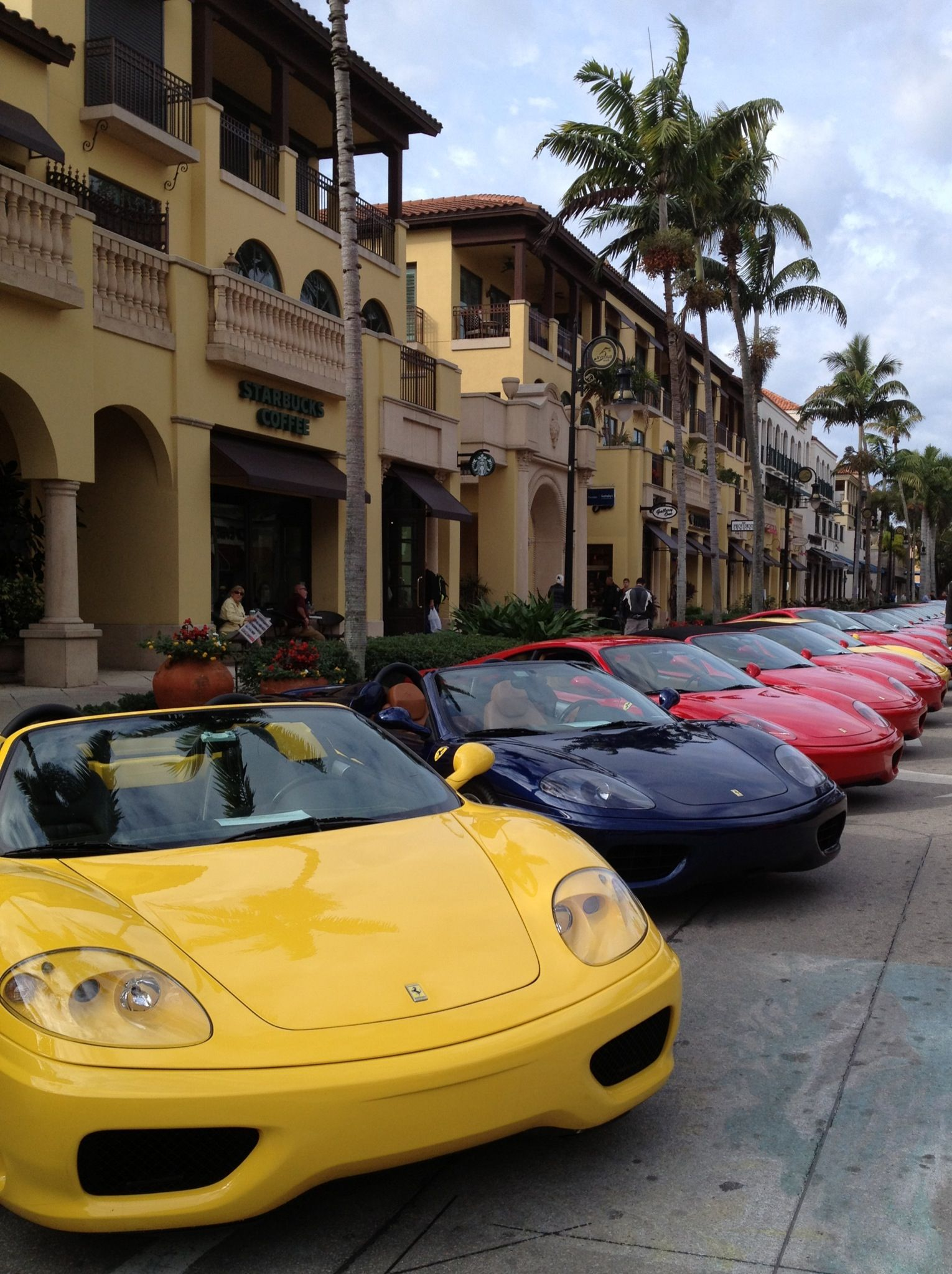 Naples Car Show >> Ferrari Car Show 5th Ave Naples Fl Through The Lens