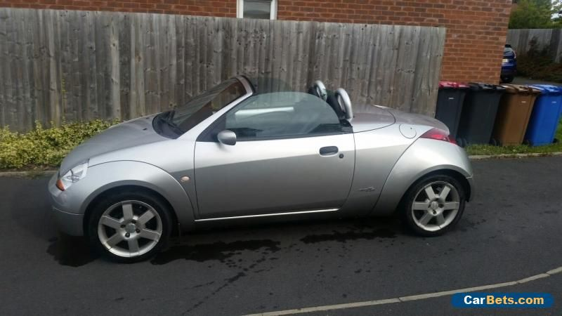 2005 Ford Streetka Luxury Convertible Silver 1 6 Genuine Low