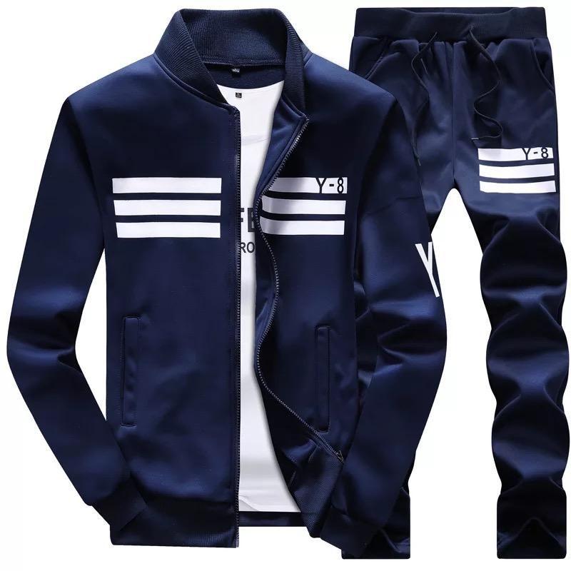 b3334d8e549 New Autumn Men s Sportswear Hoodies Set in 2019