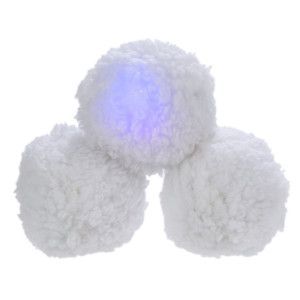 Top Paw Pet Holiday Light Up Snowball Dog Toy Toys Petsmart