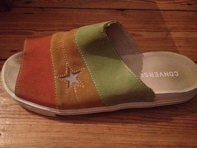 converse suede one star sandals