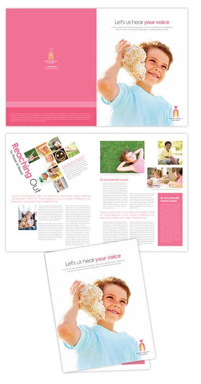 Disabled Children Services Brochure Design  Design Brochures