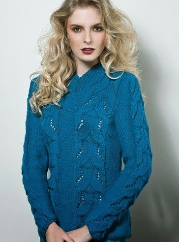 Blusa Feminina Em Trico Receita De Trico Sweaters Femininos