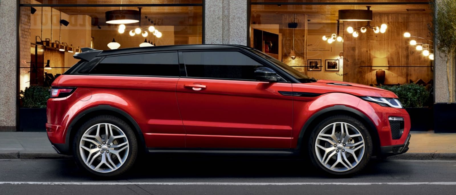 2016 Range Rover Evoque bright exterior Range rover
