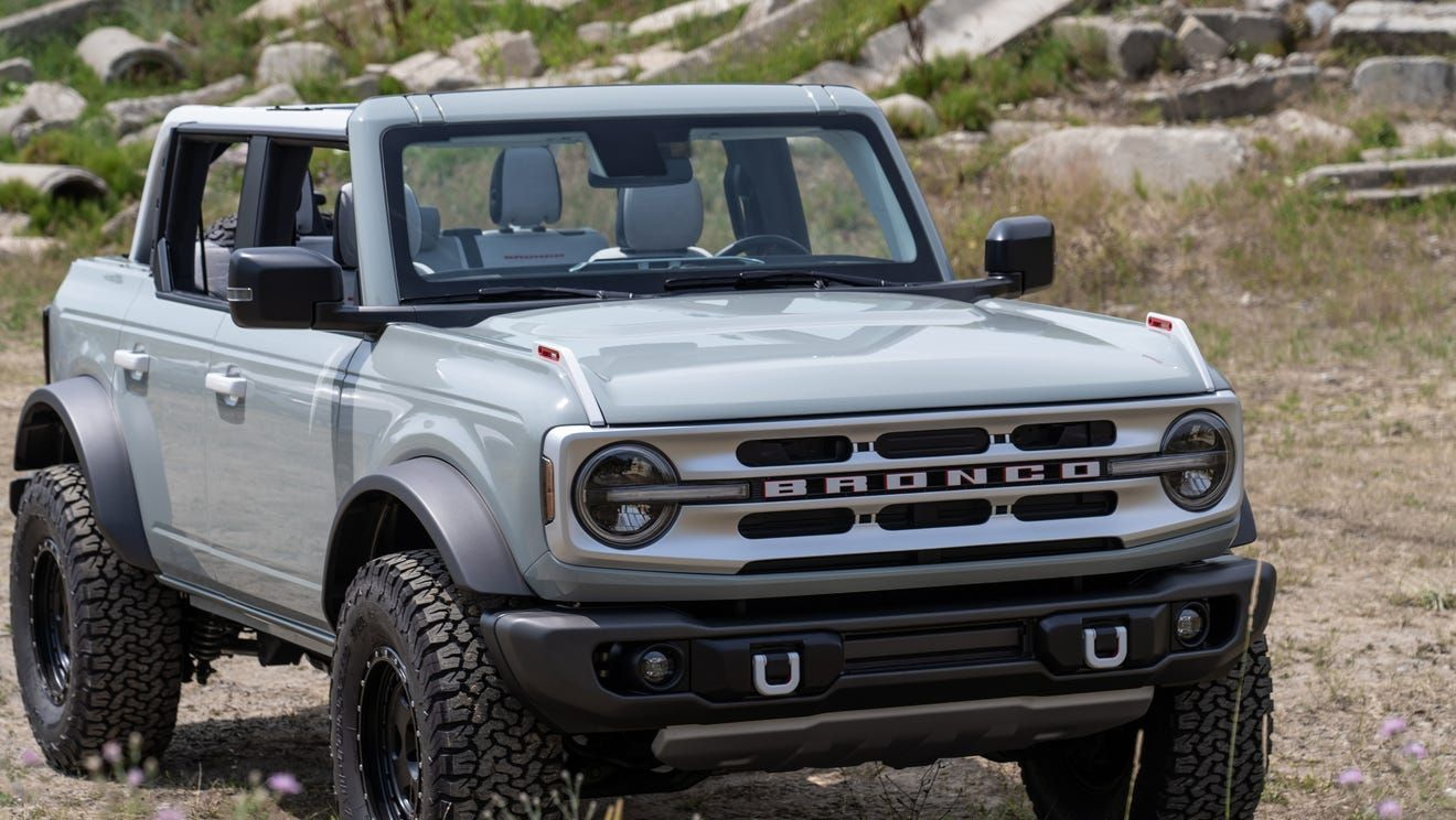 2021 Ford Bronco SUV revealed New features will make Jeep