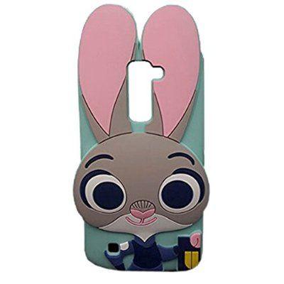 f928eb2f5e4 LG K10 Case, LG Premier LTE L62VL L61AL Case, MODEFAN 3D Cartoon Lovely  Rabbit Soft Silicon Rubber Case Cover For LG K10/LG Premier LTE L62VL L61AL  (2016)