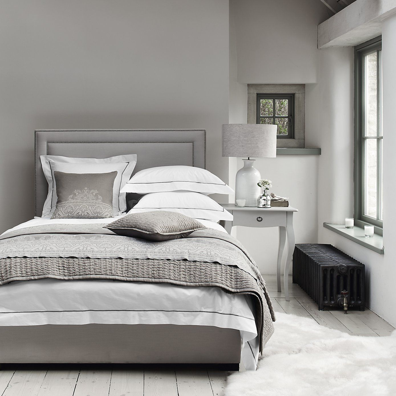 Best Cavendish Bed Pearl The White Company Bed Linens 640 x 480