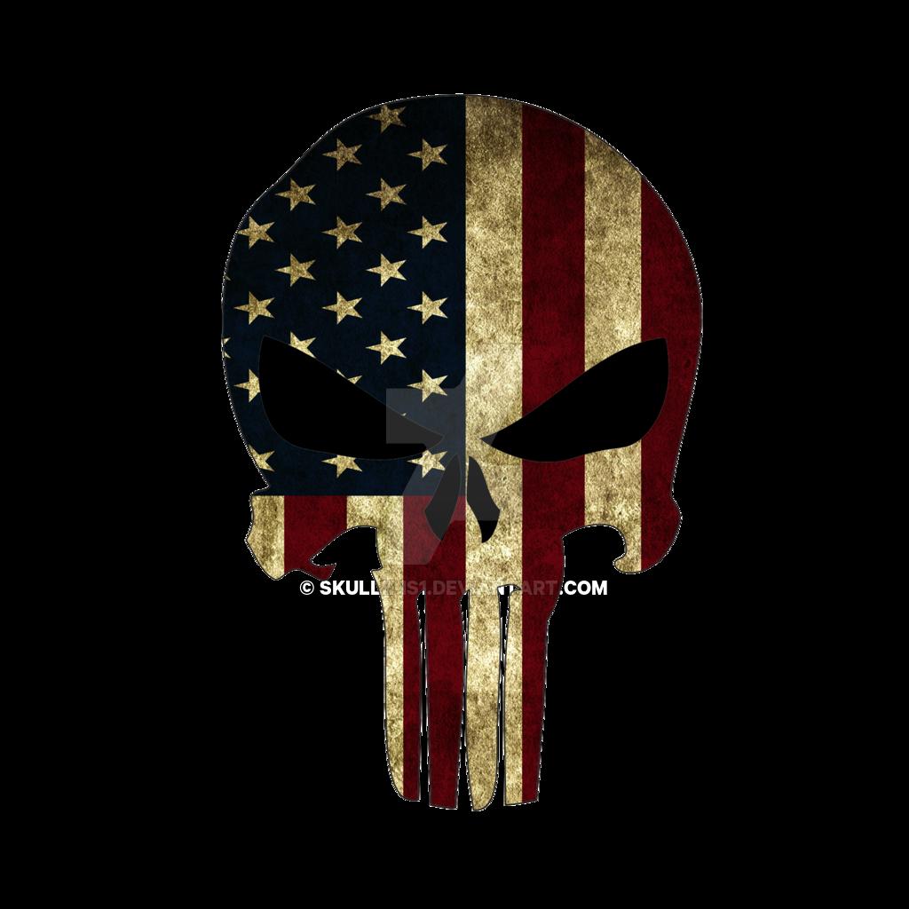 american flag punisher skull wallpaper - wallpapersafari | epic