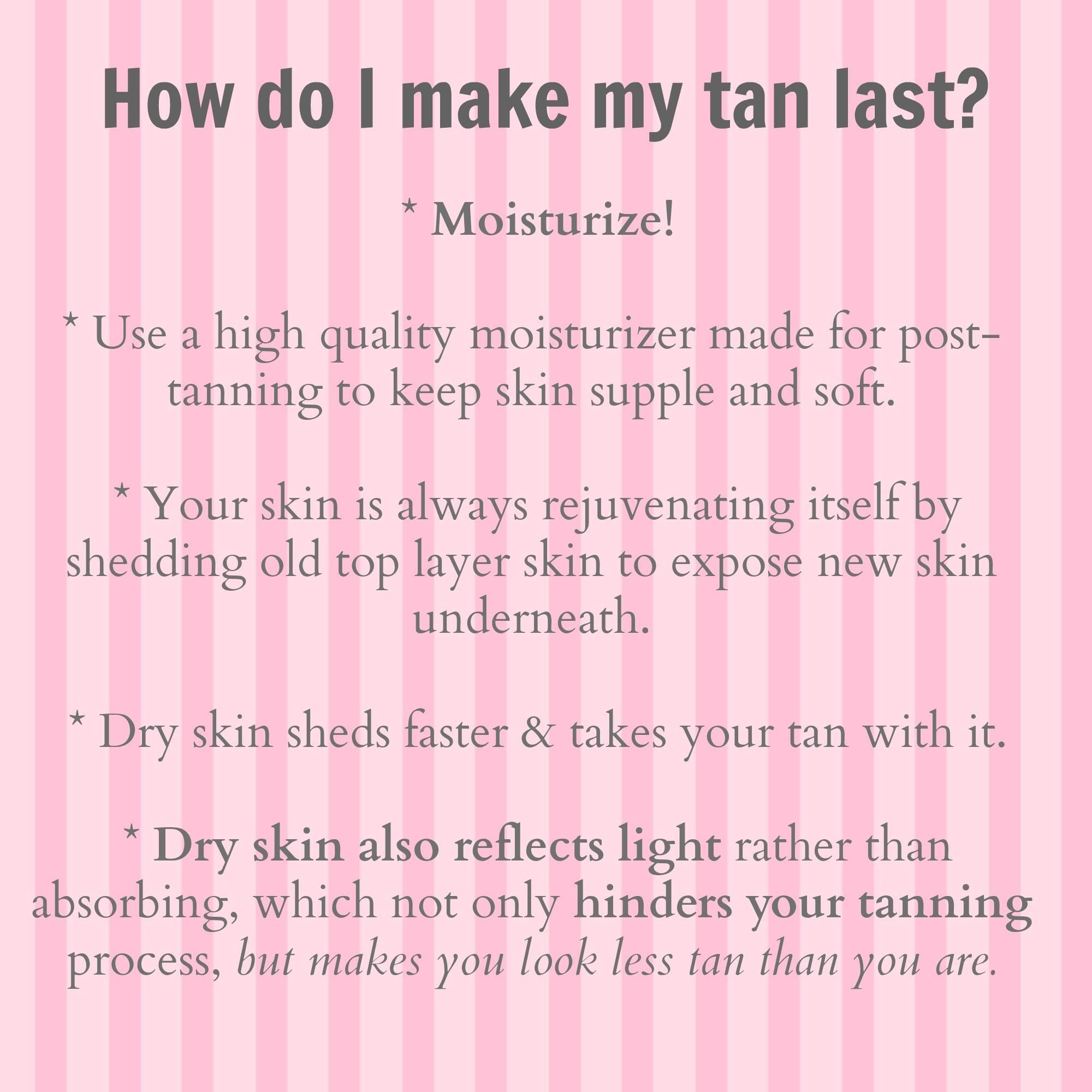 Make That Tan Last Tanning Skin Care Spray Tanning Quotes Mobile Spray Tanning